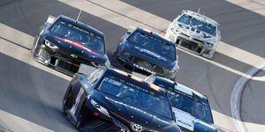 A top NASCAR competition executive issued a puzzling response to drivers critical of the drafting package on Thursday.