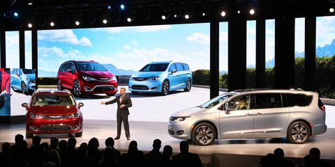 Fiat Chrysler Automobiles unveiled the all-new Chrysler Pacifica minivan earlier this year at the Detroit auto show.
