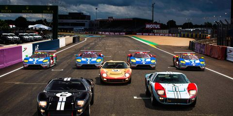 After a year of development, the Ford GT takes on the Le Mans 24 Hours. This video features some of the major milestones in the road to Le Mans.