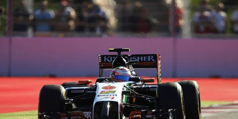 Sergio Perez and the Force India Formula One team are ready to go this week in Austin.