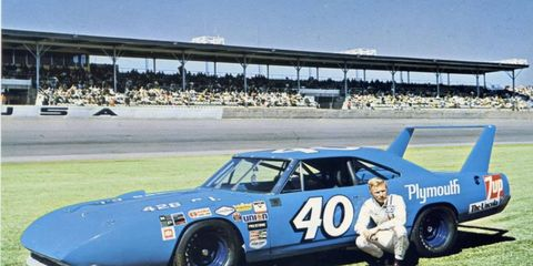 Pete Hamilton drove part time for Petty Enterprises in what is now the Monster Energy NASCAR Cup Series.