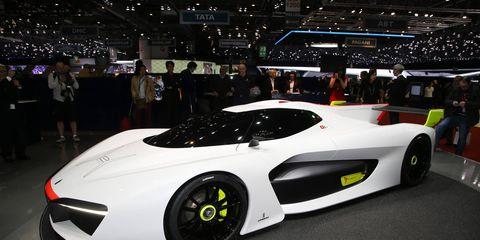 Pininfarina H2 Speed Concept shown in March at the Geneva auto show.