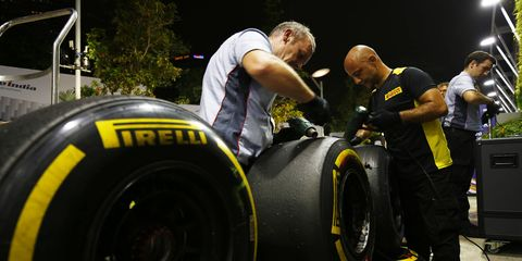 Pirelli reportedly is considering cutting off the Caterham Formula One team for the Japanese Grand Prix.