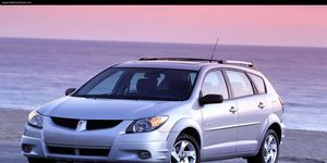 The 2003 Pontiac Vibe is on the list of airbag recalls.