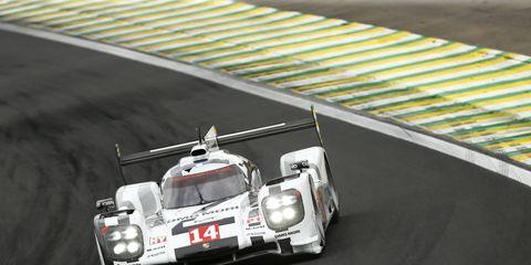 Neel Jani drove the Porsche 919 Hybrid to the race race win on Sunday in Brazil.