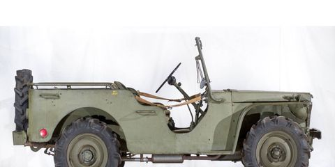 The Ford Pygmy prototype, the modern Jeep's oldest surviving ancestor.