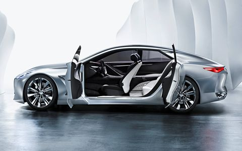 Call them portal doors, call them suicide doors -- we don't really care. We just want to see them in production.