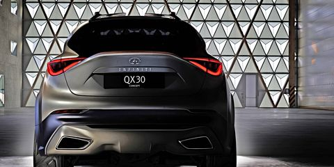The QX30 will enter production in the U.K. this summer, according to statements made by Johan de Nysschen last summer.