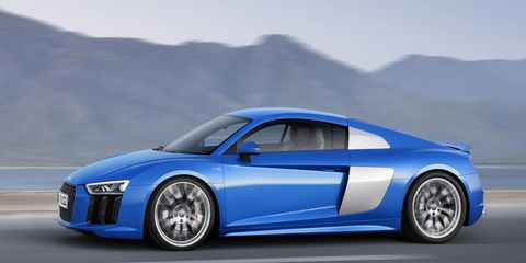Audi's entire model range will be available to Audi on Demand users. Fast drivers recommend the R8.