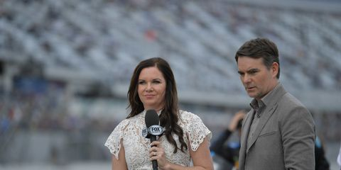 Jeff Gordon will remain with Fox Sports NASCAR for the next several years.