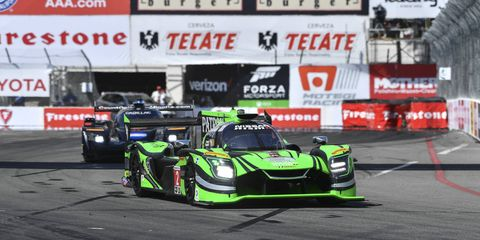 Ryan Dalziel teamed with Scott Sharp for a runner-up finish at Long Beach.