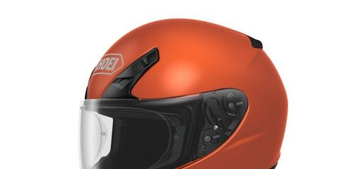 Our test-helmet was this orange but you can get numersous other colors.
