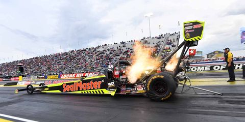 Richie Crampton has stepped in to replace Top Fuel newcomer Troy Coughlin Jr. in the SealMaster Dragster.