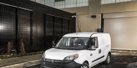 The 2015 Ram ProMaster City gets a 2.4-liter Tigershark motor.