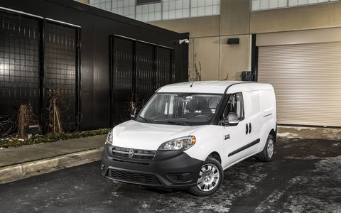 The 2015 Ram ProMaster City gets a 2.4-liter Tigershark motor.