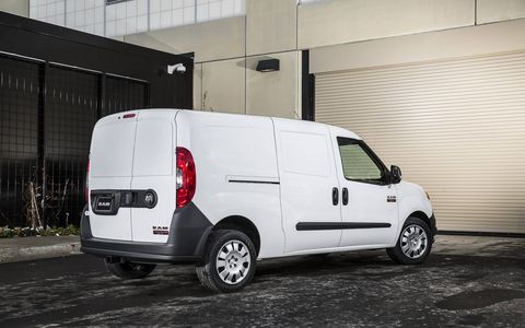 The 2015 Ram ProMaster City delivers 178 hp.
