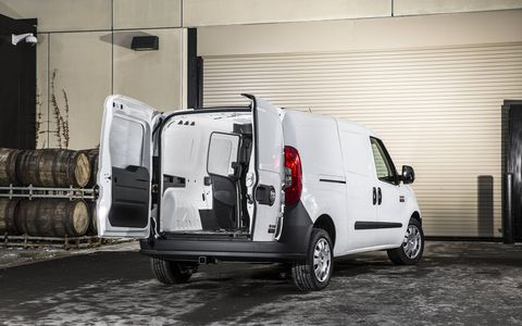 The 2015 Ram ProMaster City uses a nine-speed automatic transmission.