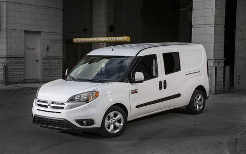 The 2015 Ram ProMaster City cargo van.