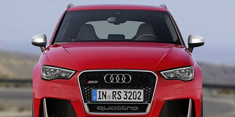 The RS3 currently exists in other markets in Sportback hatch form.