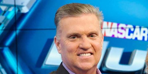 Longtime NASCAR broadcaster Steve Byrnes died on Tuesday after a long battle with cancer.