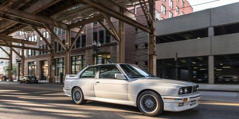 The 1990 M3 had a 2.3-liter inline four cylinder engine.