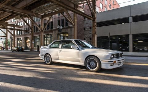 The 1990 M3 had a 2.3-liter inline four cylinder engine.