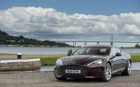 The Rapide is capable of 4.2 second sprint to 60 mph.
