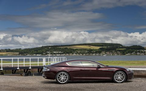Both the Rapide and the Vanquish will come equipped a new ZF developed eight-speed automatic gear box.