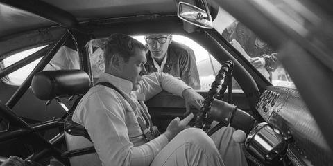 Buddy Baker, shown here in 1967, had 19 wins and 311 top-10 finishes in his NASCAR career. He is the son of NASCAR Hall of Famer Buck Baker.