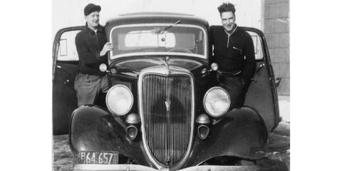 When this photo was taken, this car would have scored very high on the Badass-O-Meter.