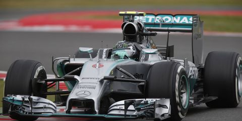 Nico Rosberg leads the Formula One points standings by four points over teammate Lewis Hamilton going into the German Grand Prix.