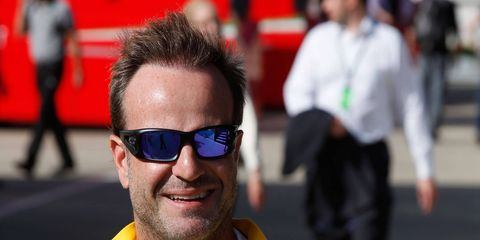 Former Formula One driver Rubens Barrichello claimed his first Brazilian stock car championship on Sunday.