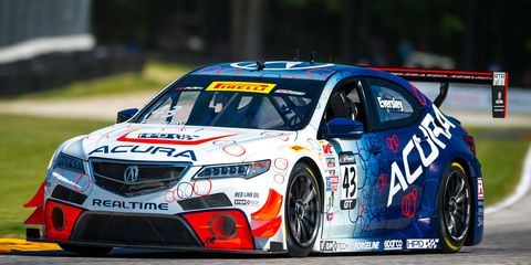 Ryan Eversley gave Acura bragging rights by winning both races at Road America over the weekend.