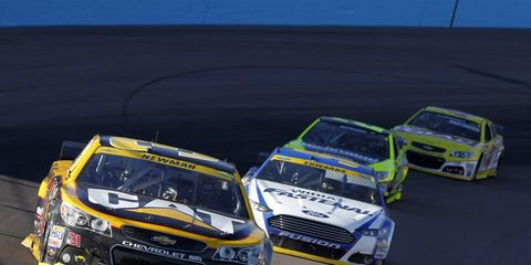 Ryan Newman used what some may call drastic measures to secure a spot in NASCAR's version of the Final Four.