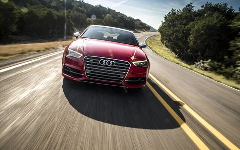 The 2015 Audi S3 is at home on a variety of roads, twisting or wide open.