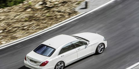 We're still waiting to hear what sort of fuel economy figures the S550 Plug-in Hybrid will return, but no matter what they are, the car is likely to attract green-focused luxury buyers.