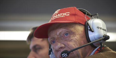 Do not be fooled. Niki Lauda is not on Twitter.