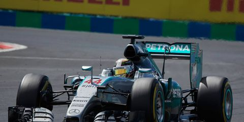 Pushing proposed Formula One engine changes to 2018 would be just fine to Lewis Hamilton and the dominant Mercedes F1 team.