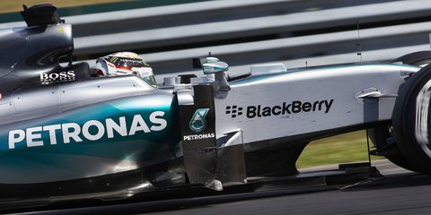 Lewis Hamilton might one day trade his Formula One car for an American stock car.