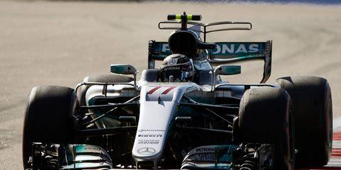 Valtteri Bottas is 23 points behind points leader Sebastian Vettel heading to Spain.