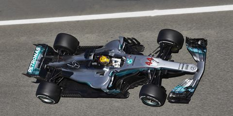 Locked in a championship battle with Ferrari, Mercedes is working toward shedding excess weight to win races.