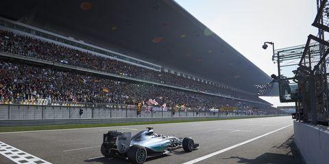 Lewis Hamilton urged his Mercedes teammate Nico Rosberg to race him.