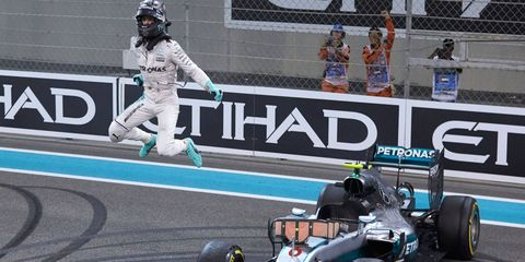 Nico Rosberg says he understands teammate Lewis Hamilton's motives for slowing the pace at Abu Dhabi.