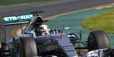 Mercedes driver Lewis Hamilton dominated last year''s Formula One race weekend in Malaysia.