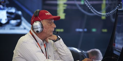 Niki Lauda responded to rumors that Mercedes was unwilling to work with Red Bull.