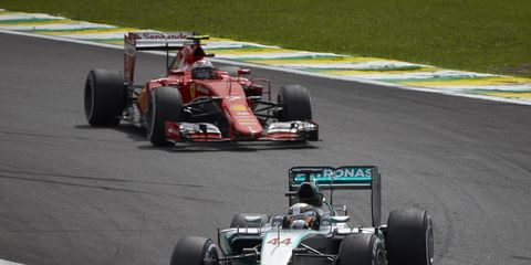 Former F1 driver Christian Danner thinks Ferrari has a 50-50 chance of competing with Mercedes in 2016.