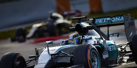 Lewis Hamilton begins defense of this Formula One title on March 15 in Melbourne.
