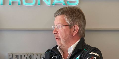 Ross Brawn is the former F1 team boss at Ferrari and later Mercedes.