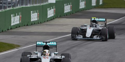 Lewis Hamilton says his relationship with Mercedes teammate Nico Rosberg has improved.