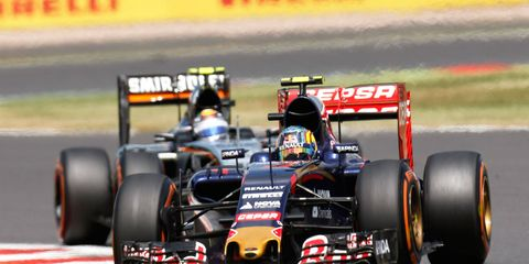 Toro Rosso rookie Carlos Sainz Jr. has scored nine points and is 15th in the Formula One championship standings.